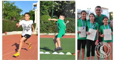 Εαρινοί Αγώνες τάξεων Νηπίου, Προνηπίου & Δημοτικών – 22.5.2018